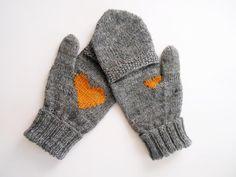Ravelry: Secretive Mittens pattern by Hanna Tjukanov Crochet Baby Mittens, Knit Mittens, Mitten Gloves, Knitted Hats, Knit Crochet, Christmas Knitting Patterns, Crochet Patterns, Knitting Projects, Crochet Projects