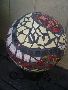 My first bowling ball mosaic