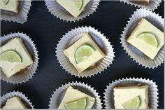 Delicious Key Lime Bars  Made this- turn out great!