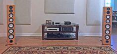 Axiom M100 Floor-standing Speakers - Setup
