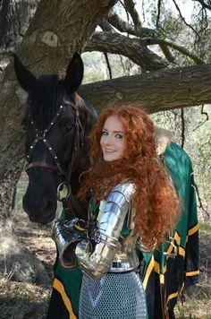 Medieval Girl Power Armor treatment