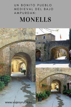 Monells, un bonito pueblo medieval del Bajo Ampurdan (Girona) Westerns, Medieval, Places To Visit, Mansions, House Styles, Natural, Travel Ideas, Drive Way, Paths