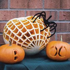 """These incredible past winners of our """"Carve the Cutest Pumpkin"""" contest really got into the Halloween spirit! #halloween"""