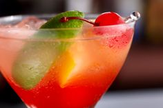 Nutrisystem provides a delicious and healthy recipe for a Cherry Limeade Slushie.