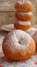 No he probado unas rosquillas caseras tan ricas en mi vida, son deliciosas, tienen un sabor espectacular y un aroma que ya os podeís ima...