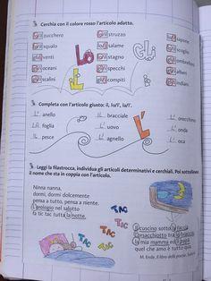"""Articoli"" Bullet Journal, Education, School, Blog, Alphabet, Winter Time, Schools, Learning, Teaching"