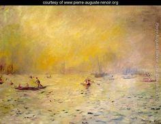 View Of Venice Fog - Pierre Auguste Renoir - www.pierre-auguste-renoir.org