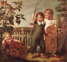 Philipp Otto Runge, 1805~ The Hülsenbeck Children