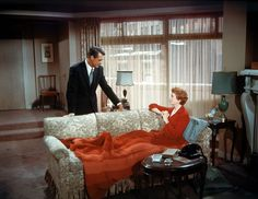 """""""An Affair to Remember"""" (1950) ~ Cary Grant and Deborah Kerr ~ seen it more times than I can count and this scene makes me cry every time."""