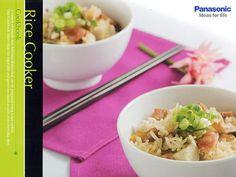 Panasonic SR-COOKBOOK - Rice Cooker Cookbook - Overview #panasonic