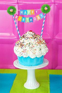 Create Your Own Birthday Cake Banner #FreePrintable