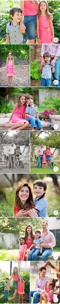 Blogged so many of this family's natural portraits! | Lark Austin Modern Portraits