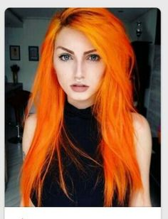 Orange hair- fantasy hair color- fantasy hair color pastel- fantasy hair color o… Orange hair- fantasy hair color- fantasy hair color pastel- fantasy hair color ombre - Station Of Colored Hairs Dye My Hair, New Hair, Dyed Hair Men, Cheveux Oranges, Cool Hair Color, Fire Hair Color, Crazy Colour Hair Dye, Crazy Hair, Gorgeous Hair