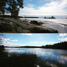 #Kuopio ja #Asikkala - sama päivä.