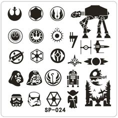 SP Stamping Plate SP-24 Star Wars