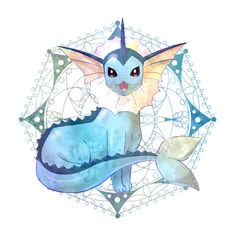 Vaporeon. Working on a design for this one for a group cosplay next year.