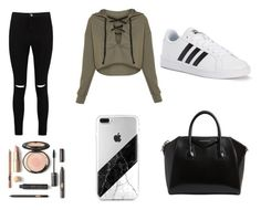 """""""Wonderful awesome  pretty bestie"""" by caseylouiseipad on Polyvore featuring Boohoo, adidas and Givenchy"""