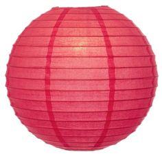 ***Lantern 12 inch-Coral Pink