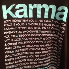 Karma. always on my mind