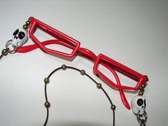 Grell Sutcliff glasses from kuroshitsuji making process cosplay tutorial
