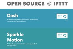 Confira a Coleção de projetos IFTTT Open Source