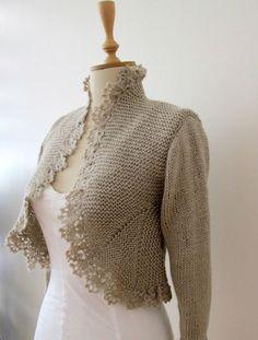 可仿的优雅搓板针长袖/短袖小礼服(小礼服织法可参照修身搓板针外套织法编织) - 苏薇 - 苏薇的博客