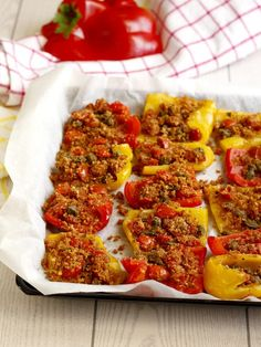 Recipe Form, Antipasto, I Foods, Italian Recipes, Food And Drink, Cooking Recipes, Favorite Recipes, Yummy Food, Stuffed Peppers