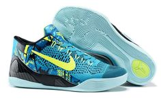 """New Arrival Nike Kobe 9 Low """"Perspective"""" Neon Turquoise Volt Cheap Online 1f6e61ad8"""