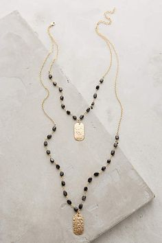 Ashen Light Layered Necklace - anthropologie.com