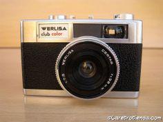 CAMARA fotografica WERLISA CLUB COLOR (Made in Spain)