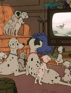 Imagen de disney, dog, and 101 dalmatians Disney Magic, Disney Pixar, Disney Films, Disney Animation, Disney E Dreamworks, Disney Amor, Art Disney, Disney Dogs, Animation Movies