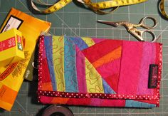 #tobacco pouch crazy #patchwork #microfiber #synthetic #leather #vegan handmade by  #kreatura
