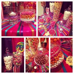 Circus Carnival Theme 15 BDay Party | By POP Candy Buffets | Embassy Suites Hotel, Dorado PR | Coordinator: Amorette Destinations Wedding | #popcandybuffet | www.facebook.com/popcandybuffets