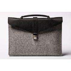 ÉSTIE Leather Slim Case Light Gray