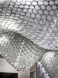 Image result for paper tube chandelier