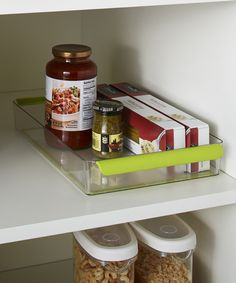 "Love this Shallow 8"" Fridge/Pantry Storage Bin by madesmart on #zulily! #zulilyfinds"