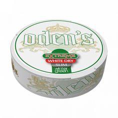 Odens Wintergreen Extreme White Dry Slim: buy snus Odens Wintergreen Extreme White Dry Slim in Switzerland cheap online | Snuskingdom Dose, Switzerland, Slim, Mint
