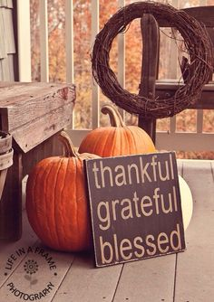 we should always constantly remind ourselves to stay thankful, grateful and most importantly to know we are blessed.