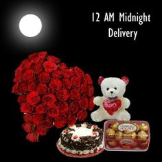 Leave your Beloved Speechless on V-Day with a Midnight Surprise