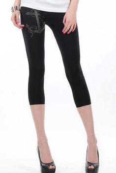 Simple Style Short Legging
