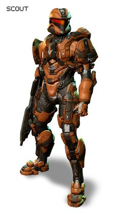 "HALO 4 Armor (this is the Armor that Commander Sarah Palmer wears in the ""Spartan Ops"" online mini series, just a different color.."