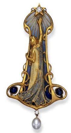 Bricteaux antoine woman star pendant