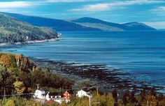 The tiny hamlet of Port-au-Persil in Quebec's Charlevoix region hugs one of the most dramatic coastlines in the province. Quebec Montreal, Old Quebec, Quebec City, Province Du Canada, The Province, Charlevoix Quebec, British North America, Discover Canada, Destinations