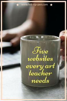Five websites every art teacher needs – five fantastic websites providing excellent exam support resources #artsed #teachingtips www.felt-tip-pen.com