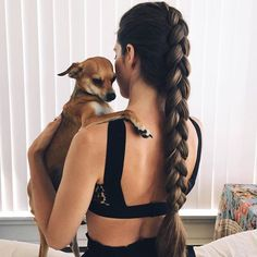 dogs + braids, our favorite combo