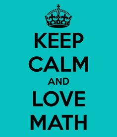 Learn to Love Maths!
