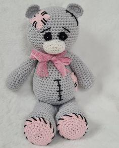 Annie, Hello Kitty, Teddy Bear, Toys, Crochet, Animals, Fictional Characters, Activity Toys, Animales