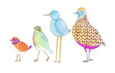 Icelandic Birds Art Print by KW Illustrations   Society6