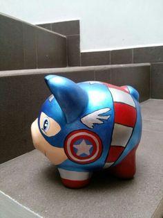 Capitán america_alcancía