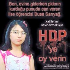 HDP'YE OY VER KATİLLERİ SEVİNDİR!  https://www.facebook.com/gencturklerizbiz  #gundem #siyaset #politika #haber #yeni #hdp #pkk